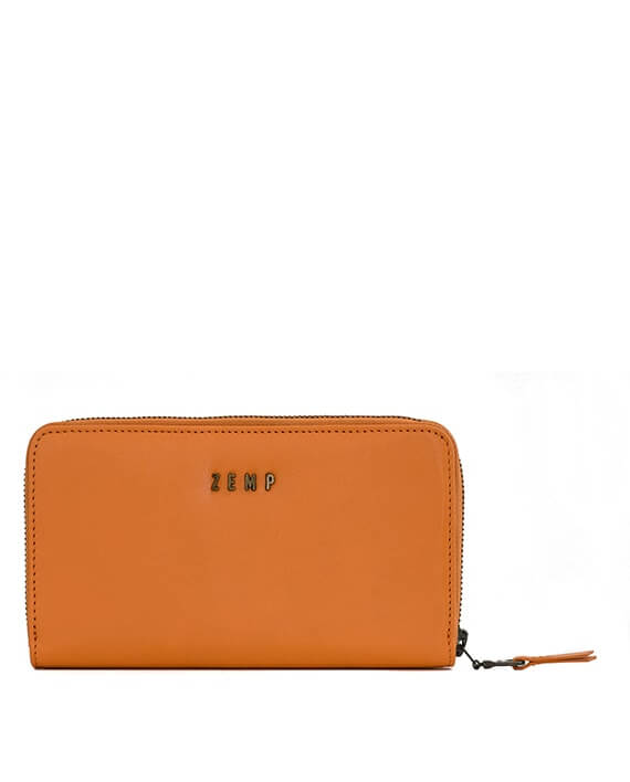 Zemp Jordan 12 CC Wallet-Purse | Orange - KaryKase