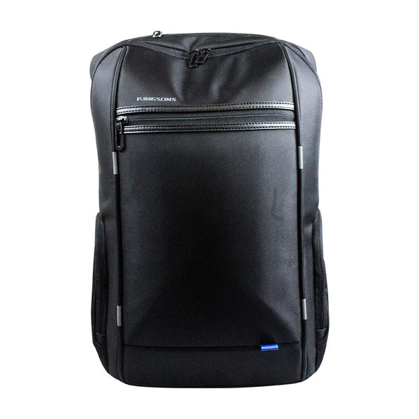 Kingsons Smart Series Laptop Backpack | Black - KaryKase