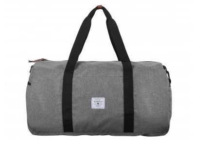 Supanova Kate Plain Winter Duffel Bag | Charcoal - KaryKase
