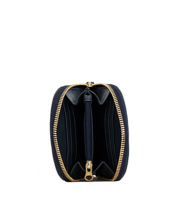 Zemp Kim Ladies Purse | Navy Blue - KaryKase