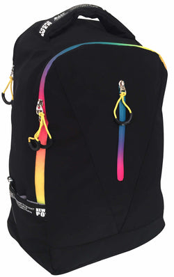 Tosca Edison Sport Neon 15″ Laptop Backpack | Black - KaryKase