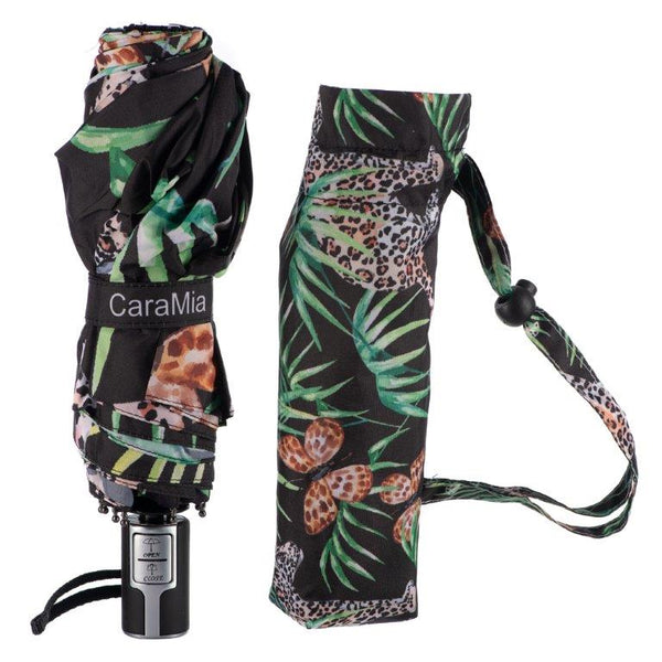 Caramia Catchmere Safari Auto Umbrella | Safari Cat - KaryKase