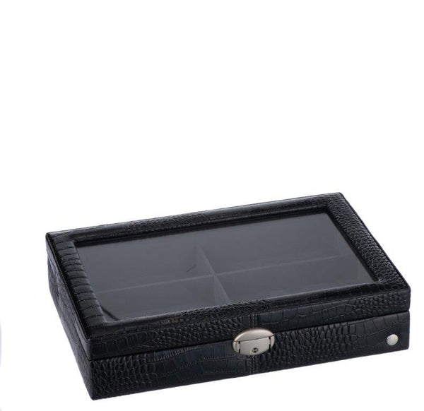 Caramia Lexi Accessory/Sunglass Box | Black Carbon Fiber - KaryKase
