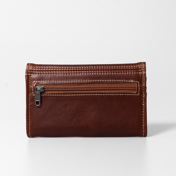 Thandana Ladies Leather Wallet with PigSkin Suede Leather Lining - KaryKase