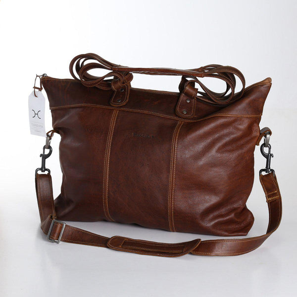 Thandana Ladies Leather Cabin Luggage Bag - KaryKase