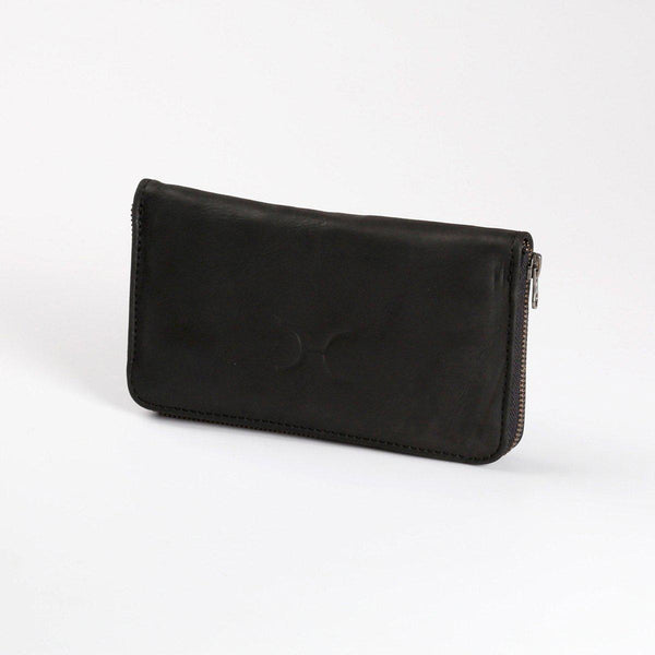 Thandana Ladies Large Leather Wallet | Black - KaryKase