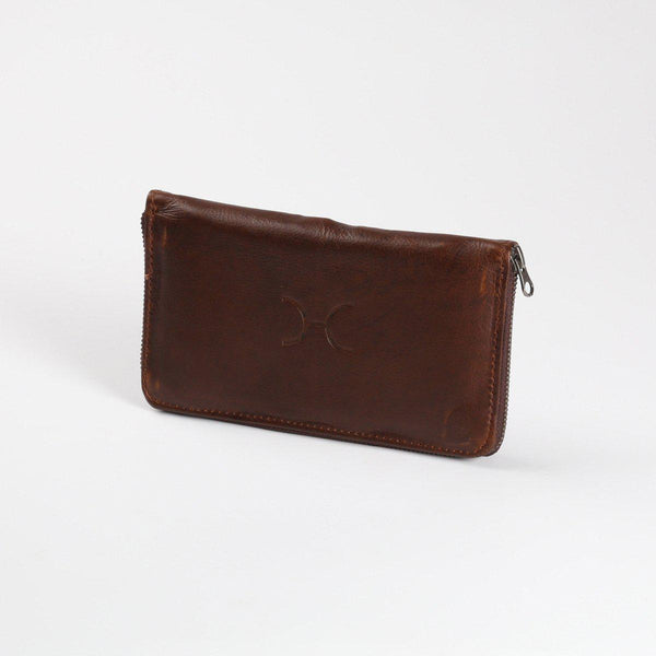 Thandana Ladies Large Leather Wallet | Tobacco