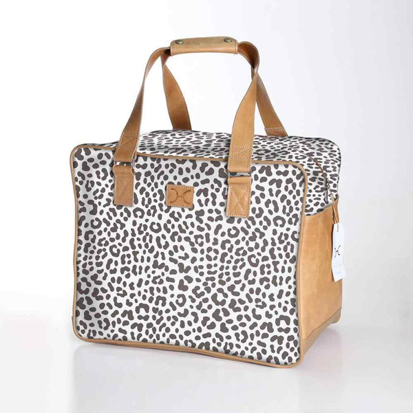 Thandana Laminated Fabric Large Weekender Bag - KaryKase