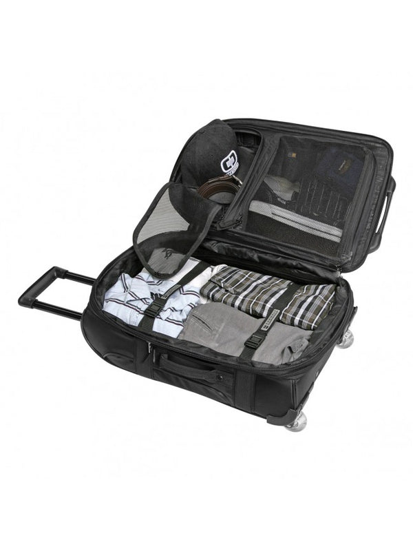 Ogio Layover Carry-On Travel Bag | Black Pindot