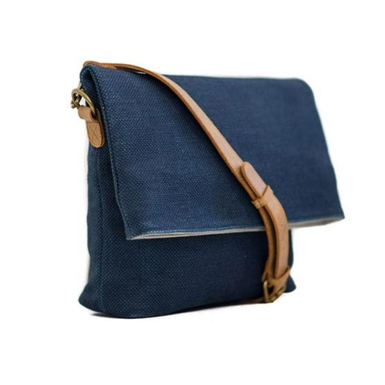 Zemp Long Beach Medium Crossbody Bag | Ocean - KaryKase