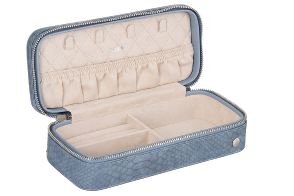 Caramia Madisson Jewel Travel Case | Navy Lizard - KaryKase