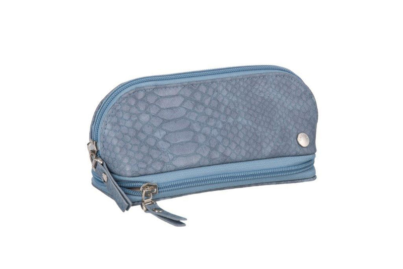 Caramia Madisson Cosmetic Jewel Case | Navy Lizard - KaryKase