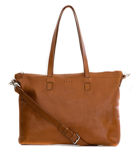 Zemp Molokai On-The-Go Handbag | Toffee Tan - KaryKase