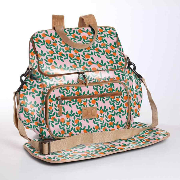 Thandana Laminated Fabric Nappy Backpack | 10 Colour Options - KaryKase