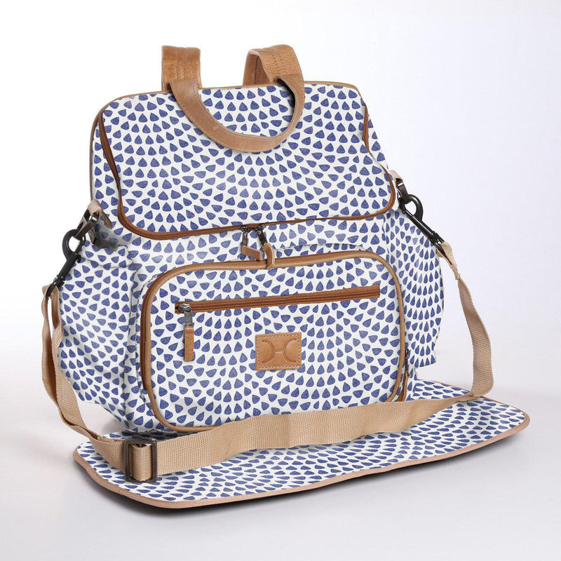 Thandana Laminated Fabric Nappy Backpack | Multiple Colour Options - KaryKase