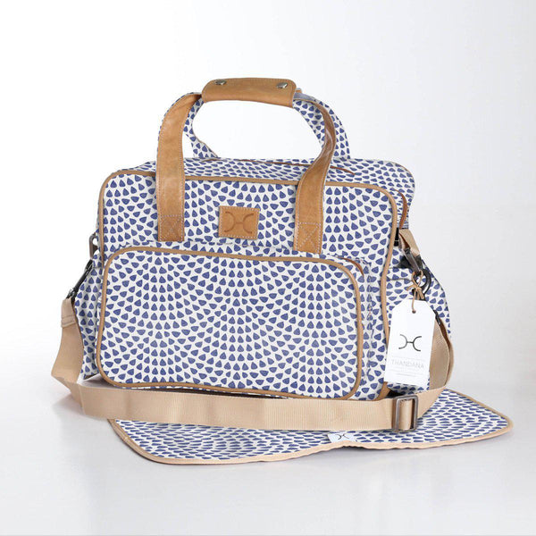 Thandana Laminated Fabric Nappy Bag | Multiple Colour Options - KaryKase