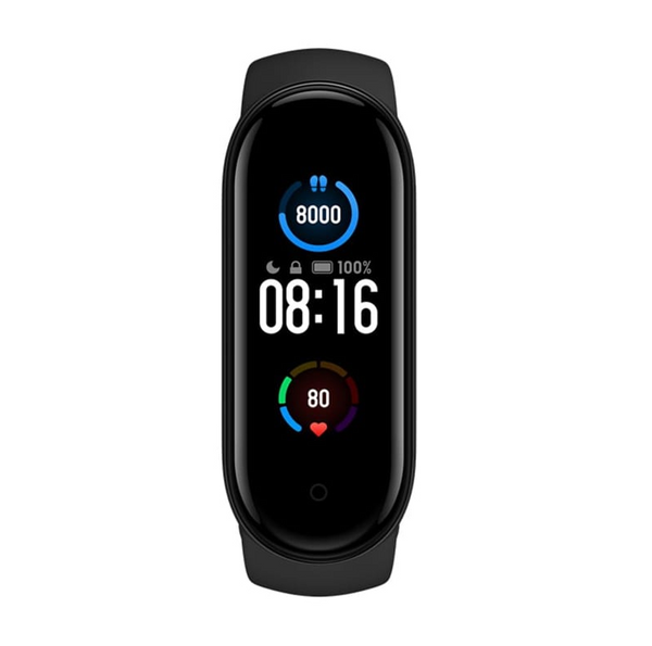 Xiaomi Mi Smart Band 5 Android & iOS Fitness Smart Watch - Black - KaryKase