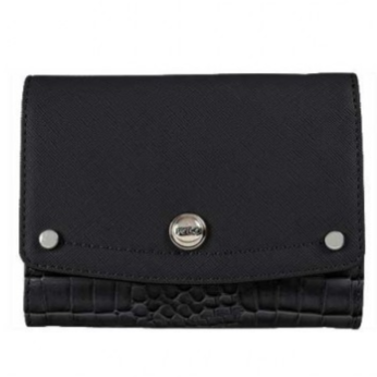 Polo Winsor Pocket Purse | Black - KaryKase