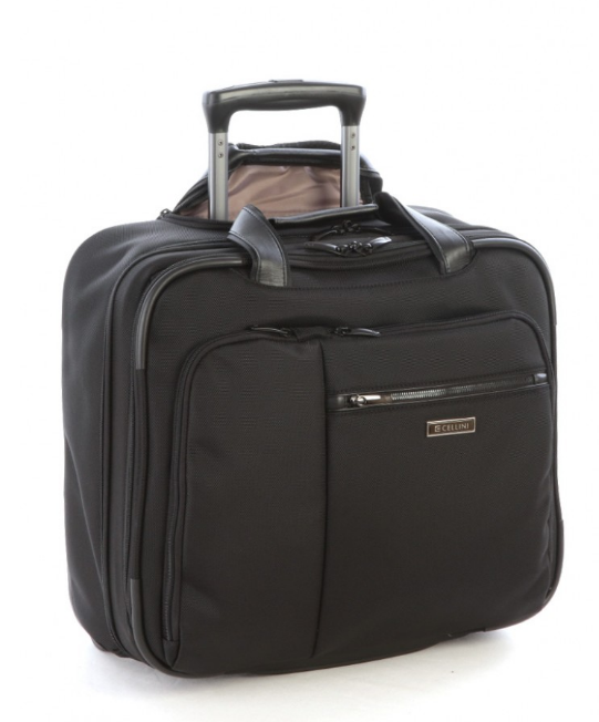 Cellini Epiq Trolley Business Case | Black - KaryKase