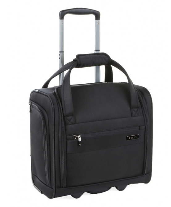Cellini Xpress Underseat Trolley Business Case | Black