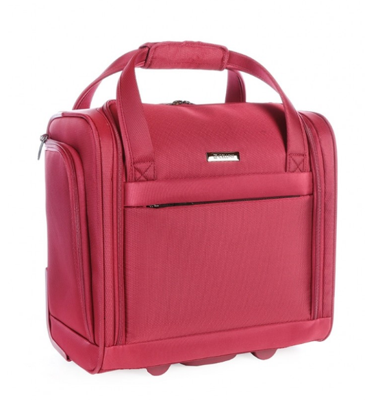 Cellini Xpress Underseat Business Trolley Case | Red - KaryKase