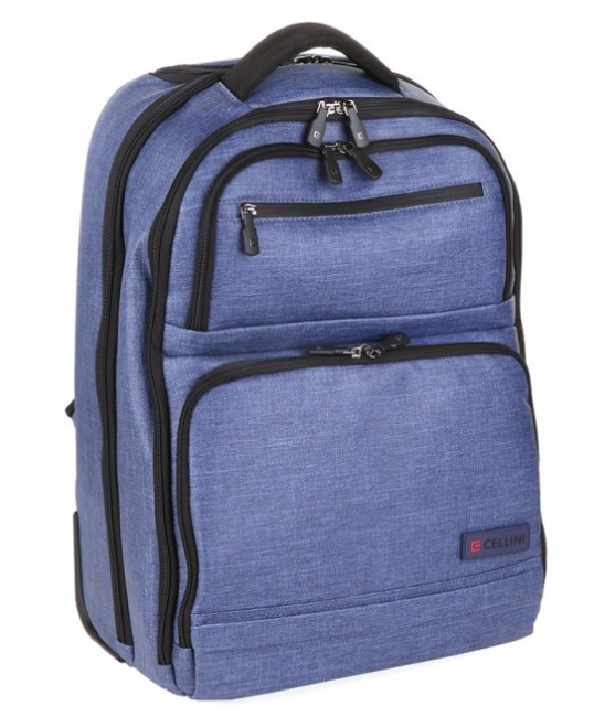 Cellini Origin Trolley Backpack | Blue - KaryKase