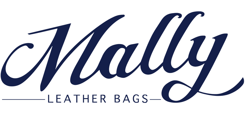 Mally Classic Leather Baby Bag | Black - KaryKase