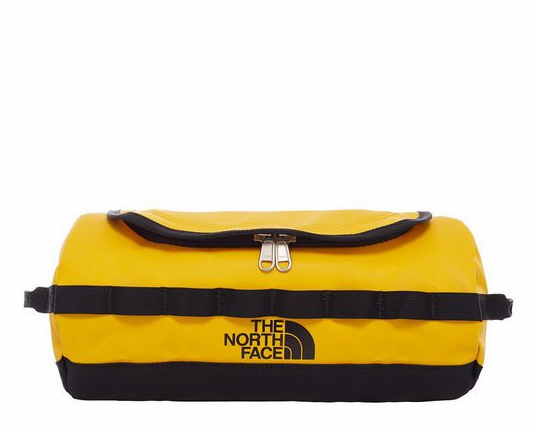 The North Face Base Camp Travel Canister (S) | Summit Gold/TNF Black - KaryKase