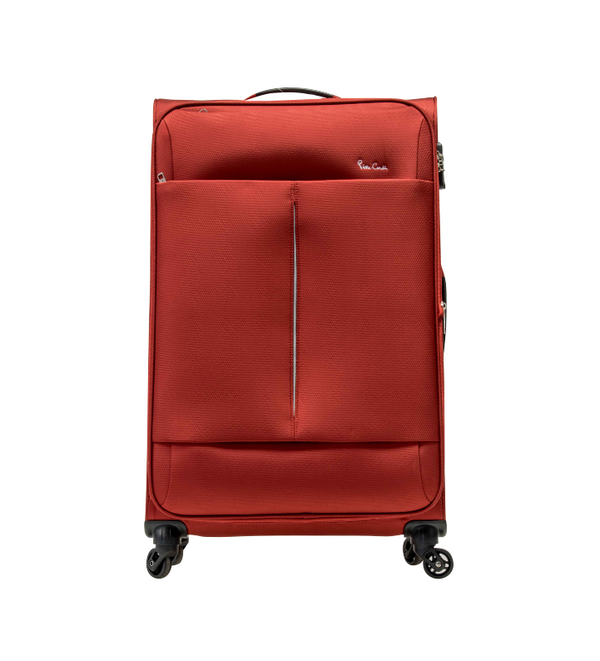Pierre Cardin Ultralite 4 Wheel Cabin Spinner | Red - KaryKase