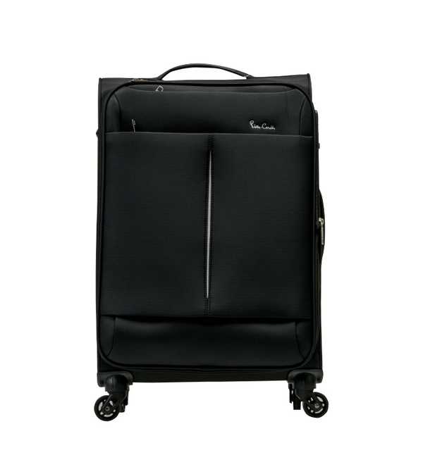Pierre Cardin Ultralite 4 Wheel Cabin Spinner | Black