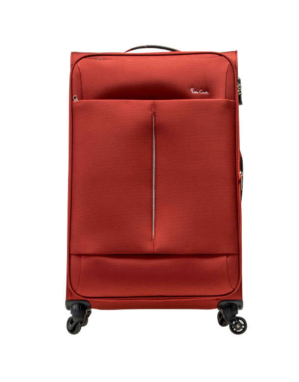 Pierre Cardin Ultralite 4 Wheel 67cm Medium Spinner | Red - KaryKase