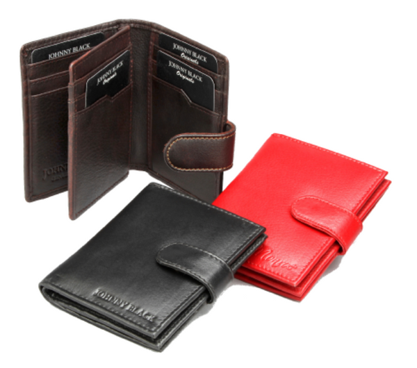 Johnny Black Antique Credit Card Holder | Brown