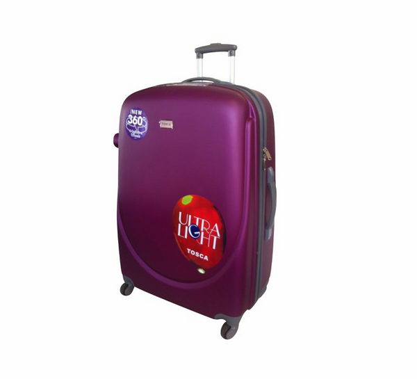 Tosca Orbit ABS 55cm Cabin Spinner | Purple
