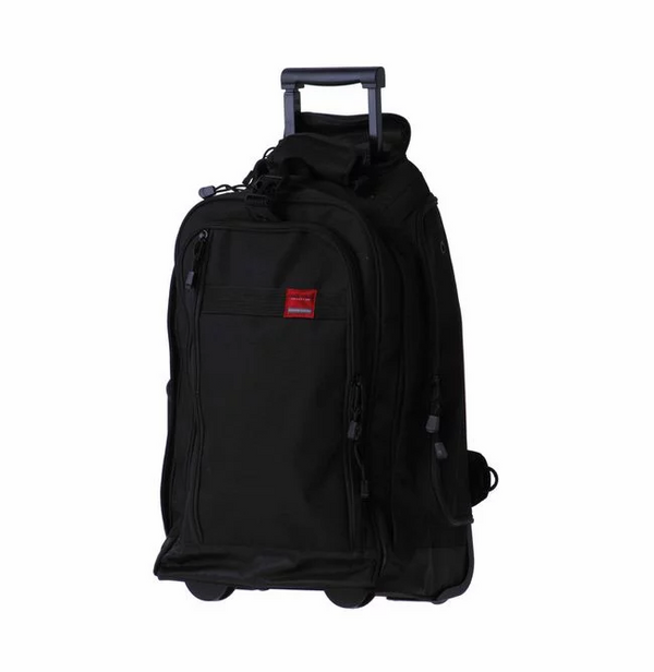 Tosca Trail Cardura Large Trolley Backpack | Black
