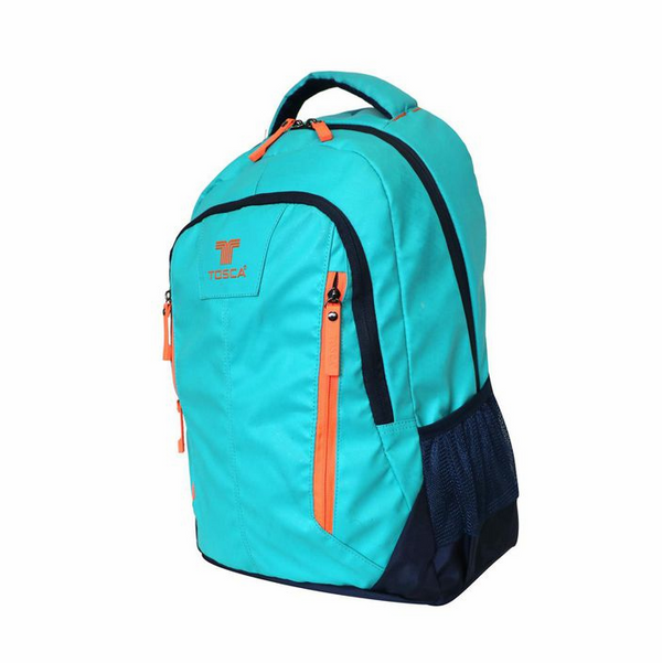 Tosca Twin-zip 14 inch Laptop Backpack | Turquoise