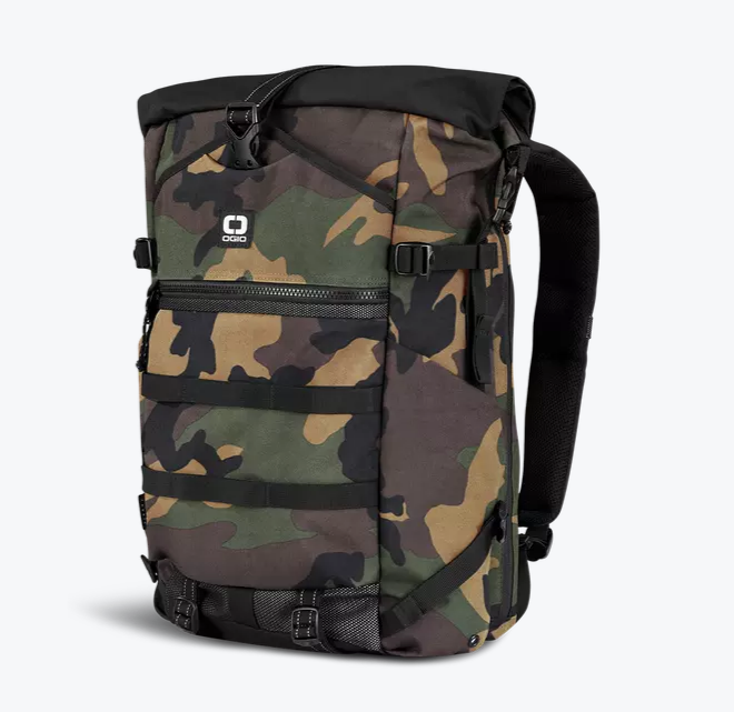 Ogio Alpha Core Convoy 525r Rolltop Backpack | Woodland Camo - KaryKase