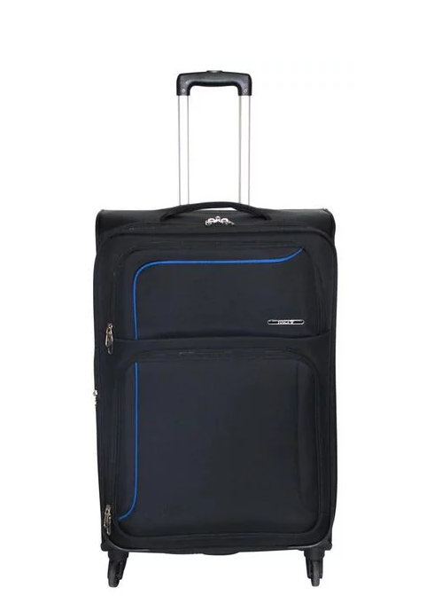 Tosca Sky Expandable 60cm Medium Spinner | Black - KaryKase