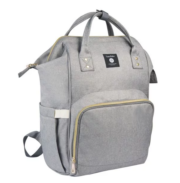 Totes Babe Alma 18L Diaper Backpack | Grey - KaryKase