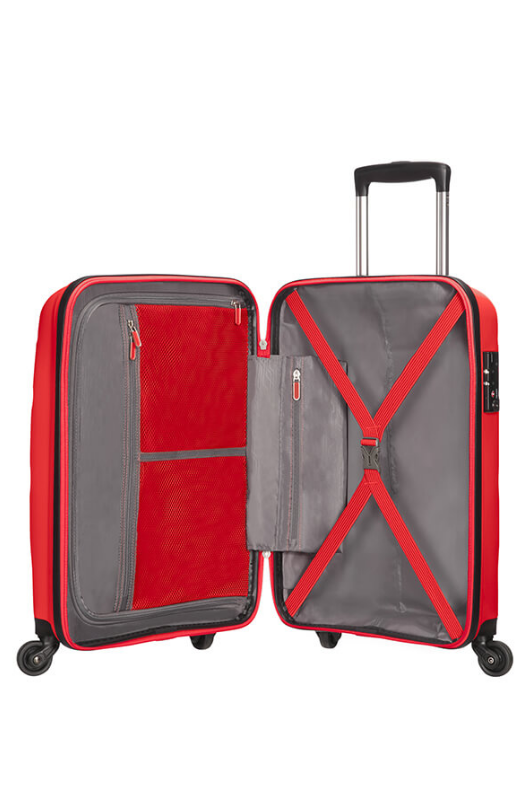 American Tourister Bon Air 55cm Cabin Spinner | Magma Red - KaryKase