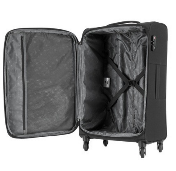 Kamiliant Kojo Luggage Set - Expandable | Black - KaryKase