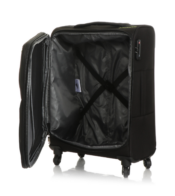 Kamiliant Cayman Luggage Set - Expandable | Black - KaryKase