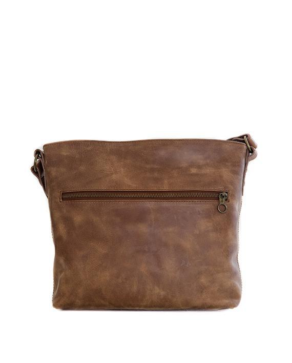 Zemp Orlando Cross Body Bag | Waxy Tan - KaryKase