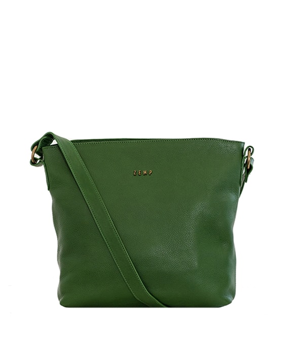 Zemp Orlando Cross Body Bag | Forest Green - KaryKase