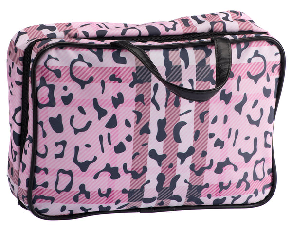 Caramia Pawberry Toiletry Bag M | Pink/Black
