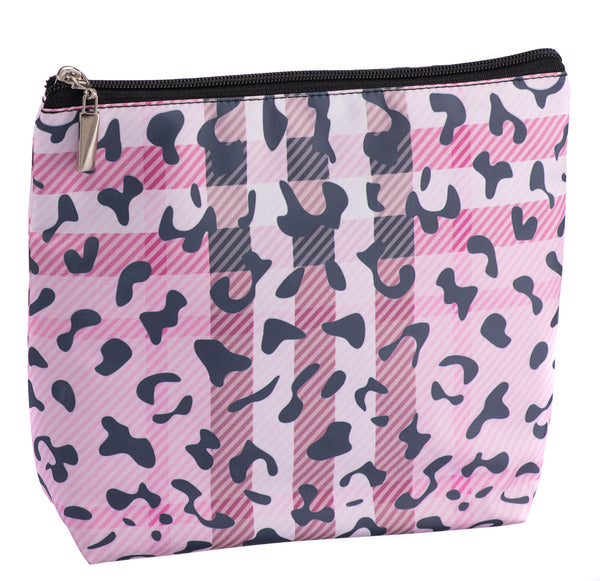 Caramia Pawberry Vertical Cosmetic Case | Pink/Black - KaryKase