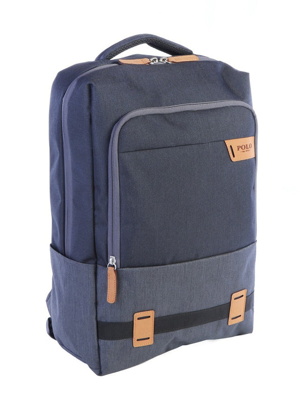 Polo Ruxton Rectangle Backpack | Charcoal - KaryKase