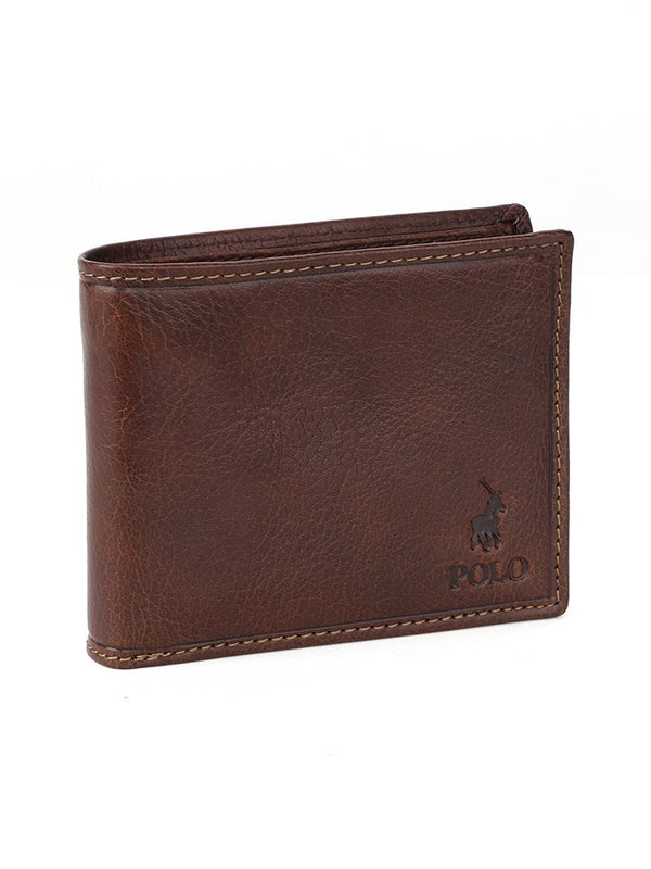 Polo Hamilton Billfold With Drivers Licence Wallet | Brown - KaryKase