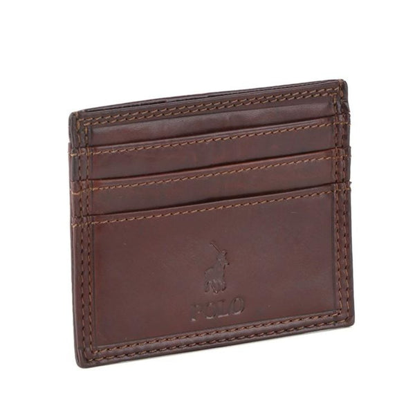 Polo Hamilton Drivers Licence Insert Wallet | Brown - KaryKase