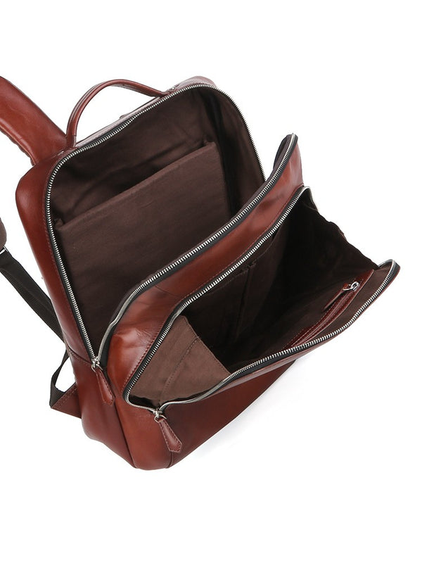 Polo Hudson Leather Backpack | Brown - KaryKase