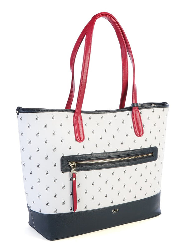 Polo Monticello Carry All Tote Handbag | Navy - KaryKase